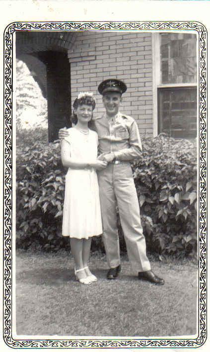 Vance and Mary wedding 1